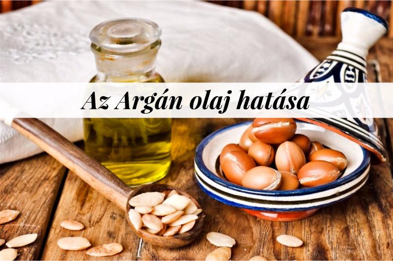 az argán olaj hatása