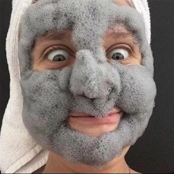 melao bubble clay mask