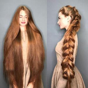 hosszú haj